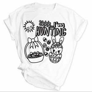 Easter Washable Coloring Shirts